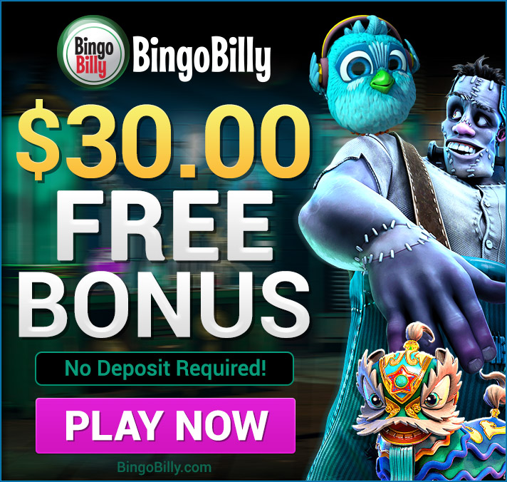 Bingo Billy No deposit bonus