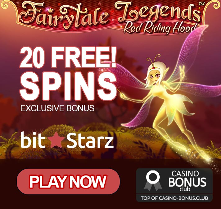 20 free spins on signup by BitStarz, no deposit required