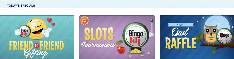 Bingo Billy Casino Bonus Club