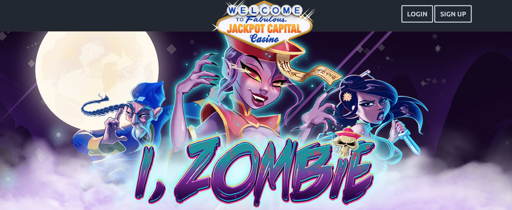 Witches And Zombies Bonuses From Jackpot Capital Casino