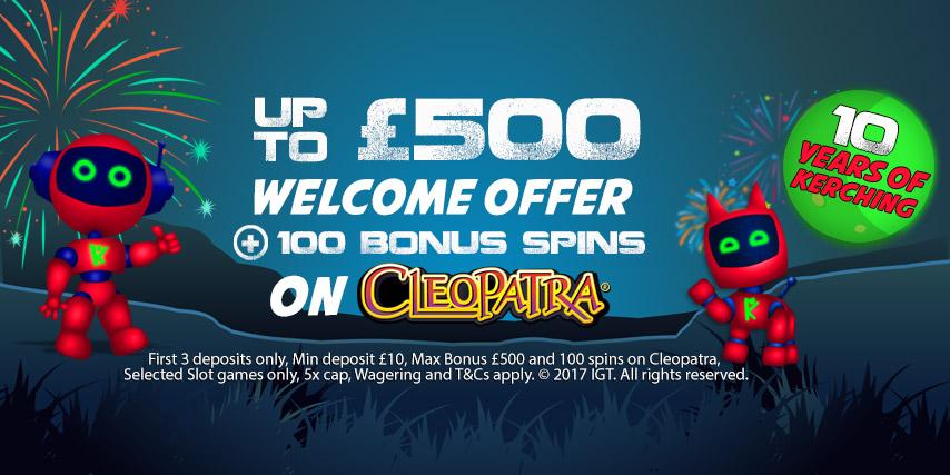 Casino club free spins