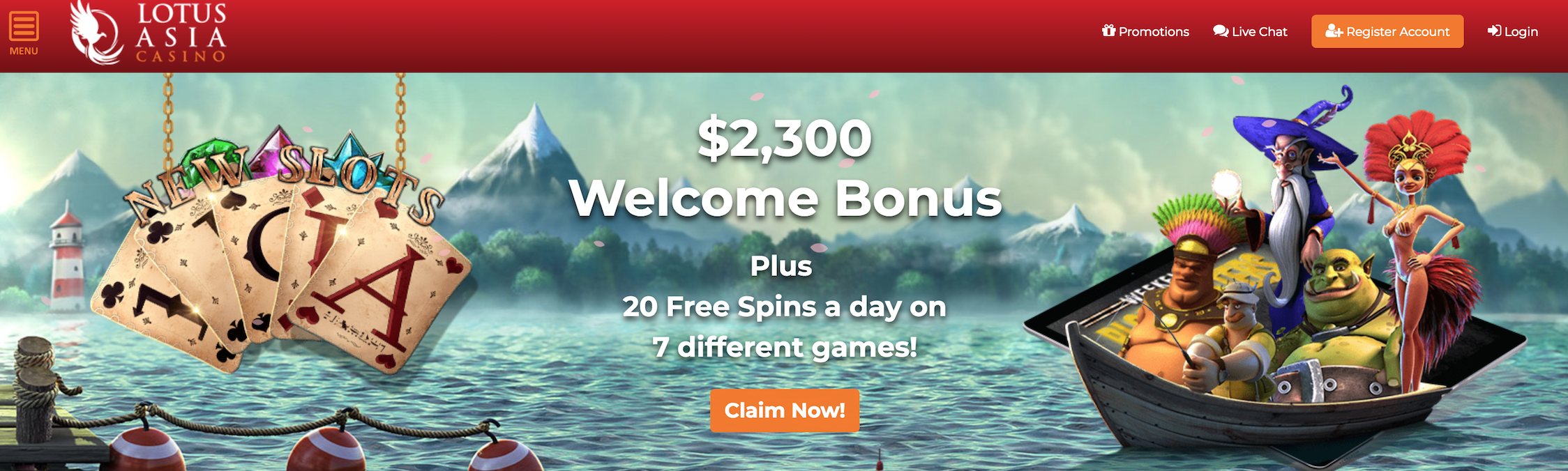 Bringing News From Lotus Asia Casino Check Out Latest Daily Bonuses Bonuskoder