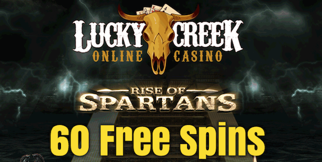 Play Rise Of Spartans Slot With 60 Free Spins From Lucky Creek