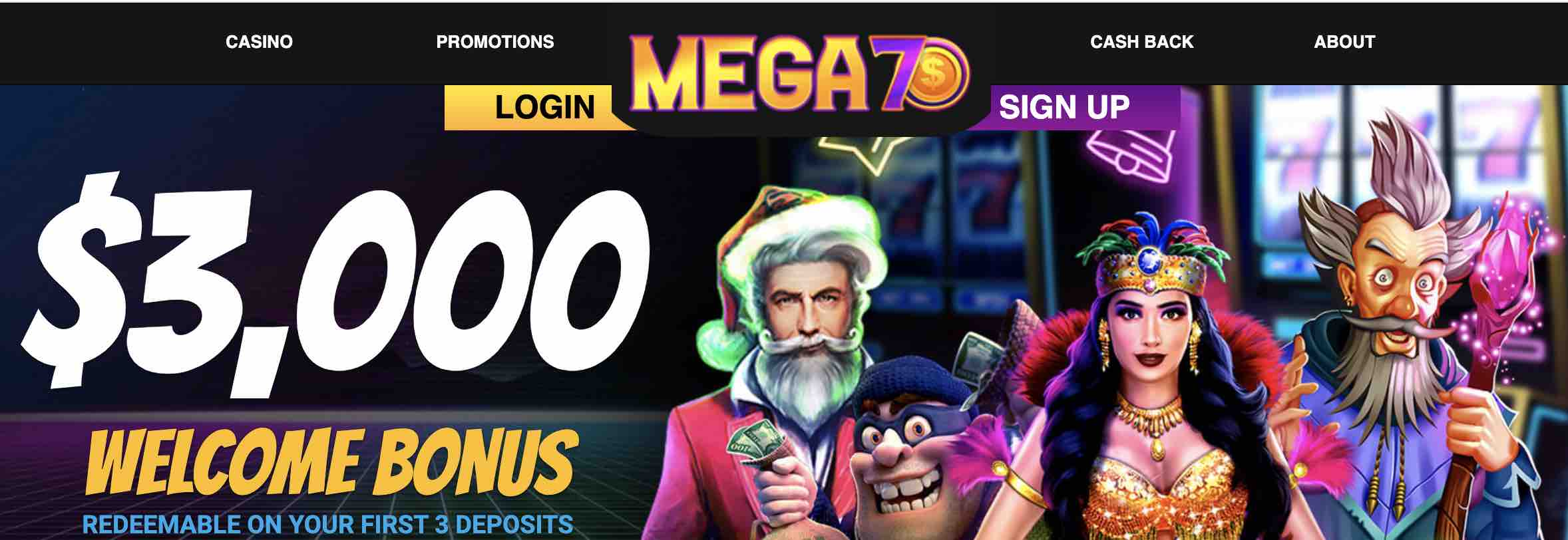 Mega7sWelcomeBonus
