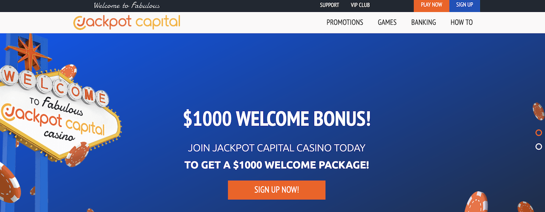 Jackpot Capital Casino | Casino Bonus Club