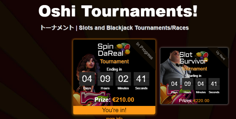 Oshi tournament
