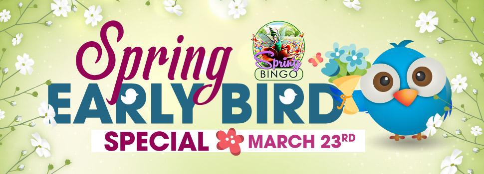SpringEarlyBird